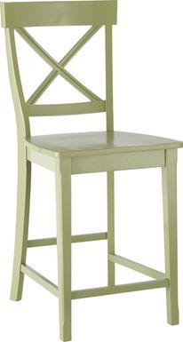 Brynwood Green Counter Height Stool