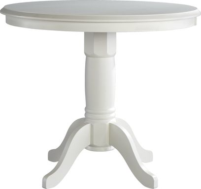 Brynwood White Counter Height Dining Table