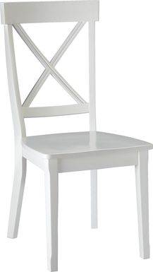 Brynwood White Side Chair