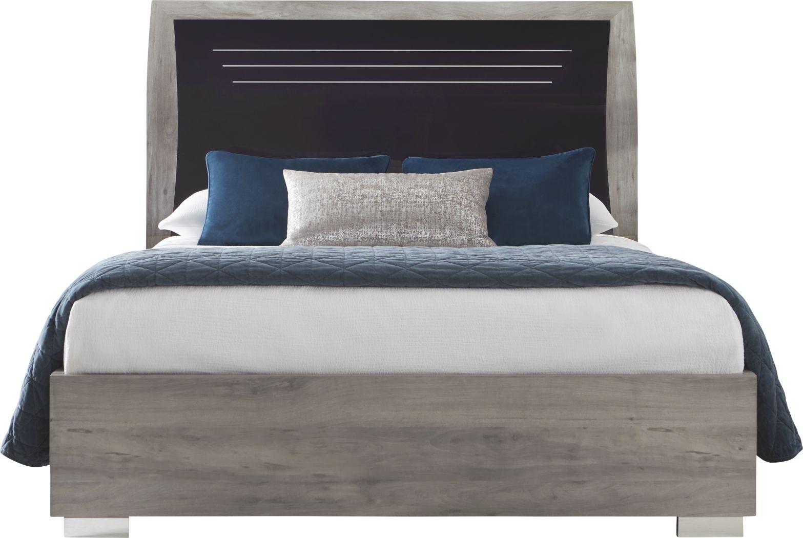 Buccone Heights Black 3 Pc Queen Bed