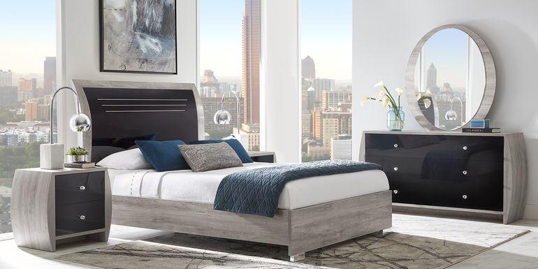 Buccone Heights Black 5 Pc King Bedroom