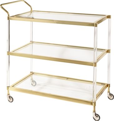 Buckthorne Gold Bar Cart
