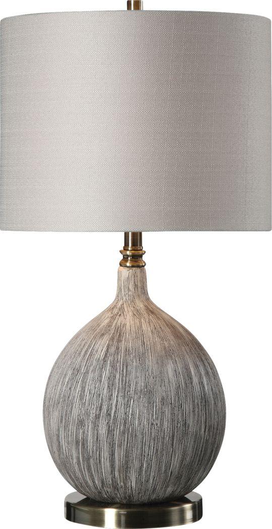 Buena Terra Gray Lamp