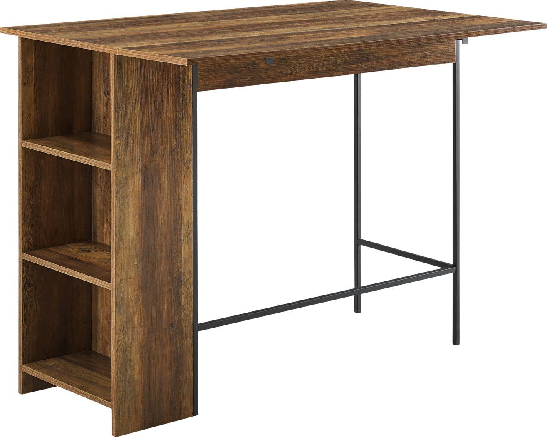Buritt Brown Counter Height Table