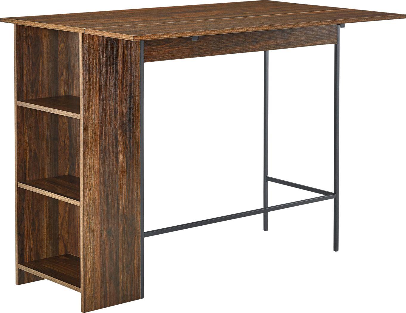 Buritt Walnut Counter Height Table