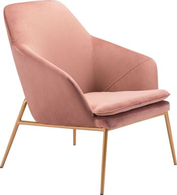 Burklee Pink Accent Chair