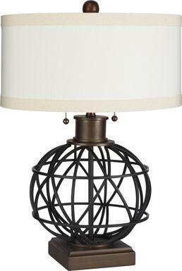 Burnelle Bronze Lamp
