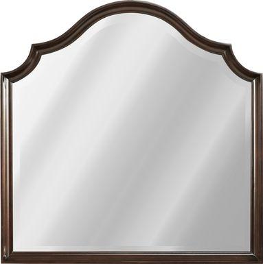 Burnette Brown Cherry Mirror