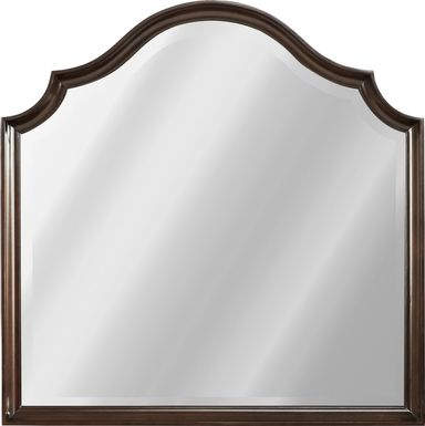 Burnette Brown Cherry Mirror