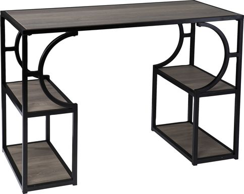 Bynum Black Desk