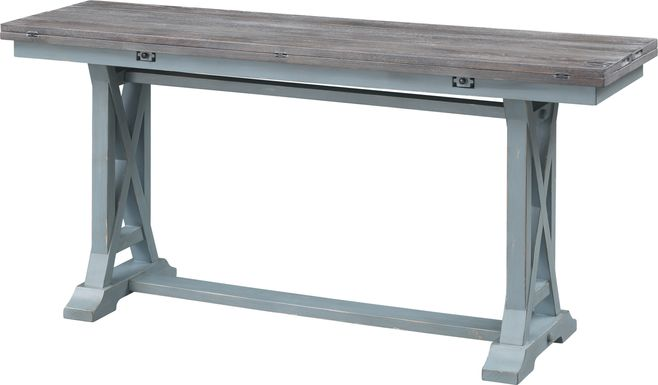 Bywood Blue Foldout Console Table