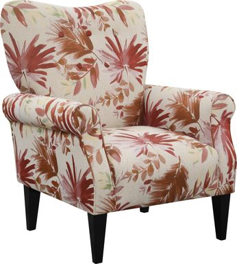 Cabell Red Accent Chair