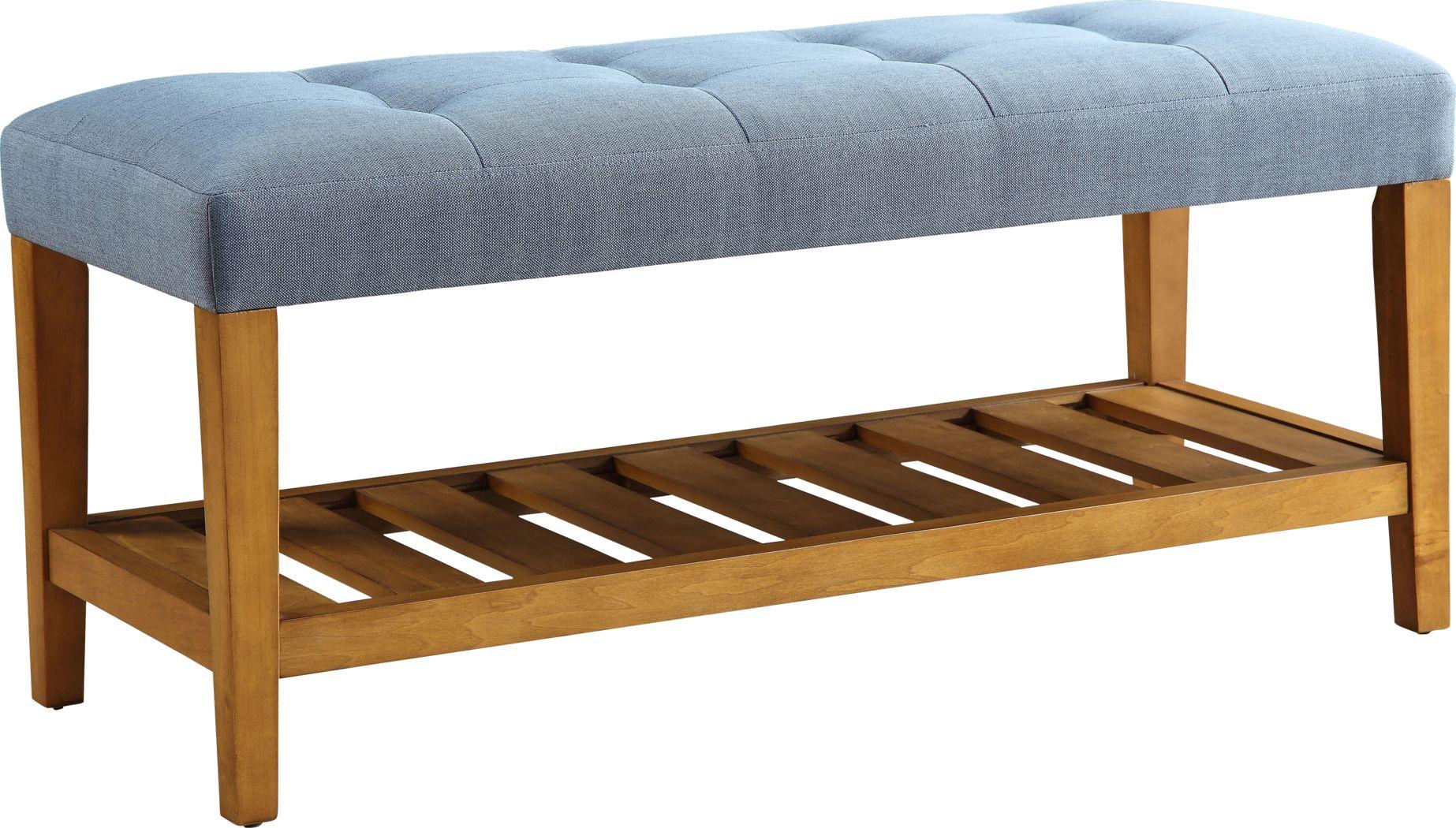 Cacia Blue Bench