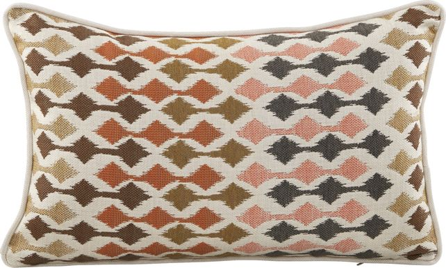 Calah Red Indoor/Outdoor Accent Pillow