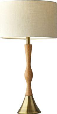 Calawba Way Natural Lamp