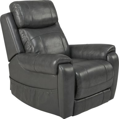 Calden Gray Lift Chair Dual Power Recliner