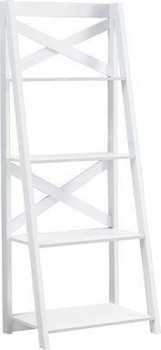 Caldwins White Bookcase
