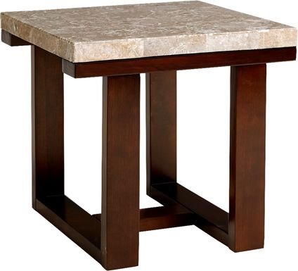 Caleb Espresso End Table