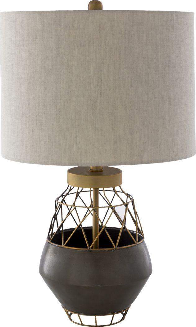 Calmer Place Brown Lamp