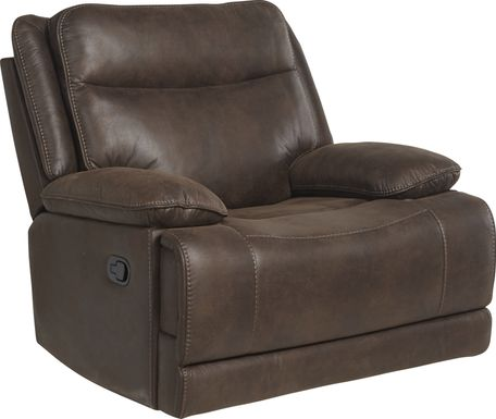 Calverton Chocolate Glider Recliner