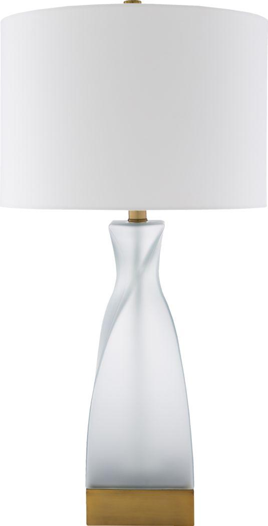 Cameo Cove Glass Lamp