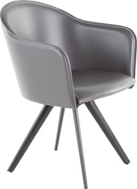 Candover Gray Accent Chair