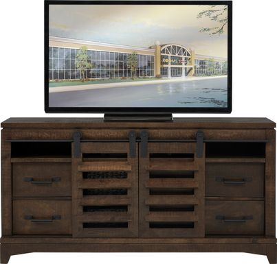 Canoe Creek II Tobacco 65 in. Console