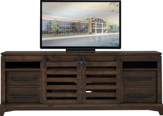 Canoe Creek II Tobacco 88 in. Console
