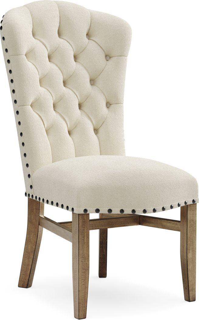 Canyon City Cream Side Chair