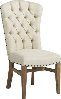 Canyon City Cream Side Chair