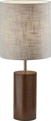 Canyon Cove Walnut Lamp