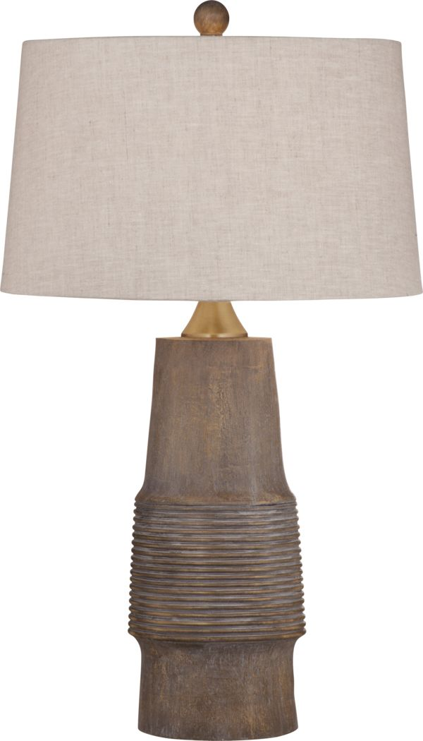 Canyon Crest Natural Lamp