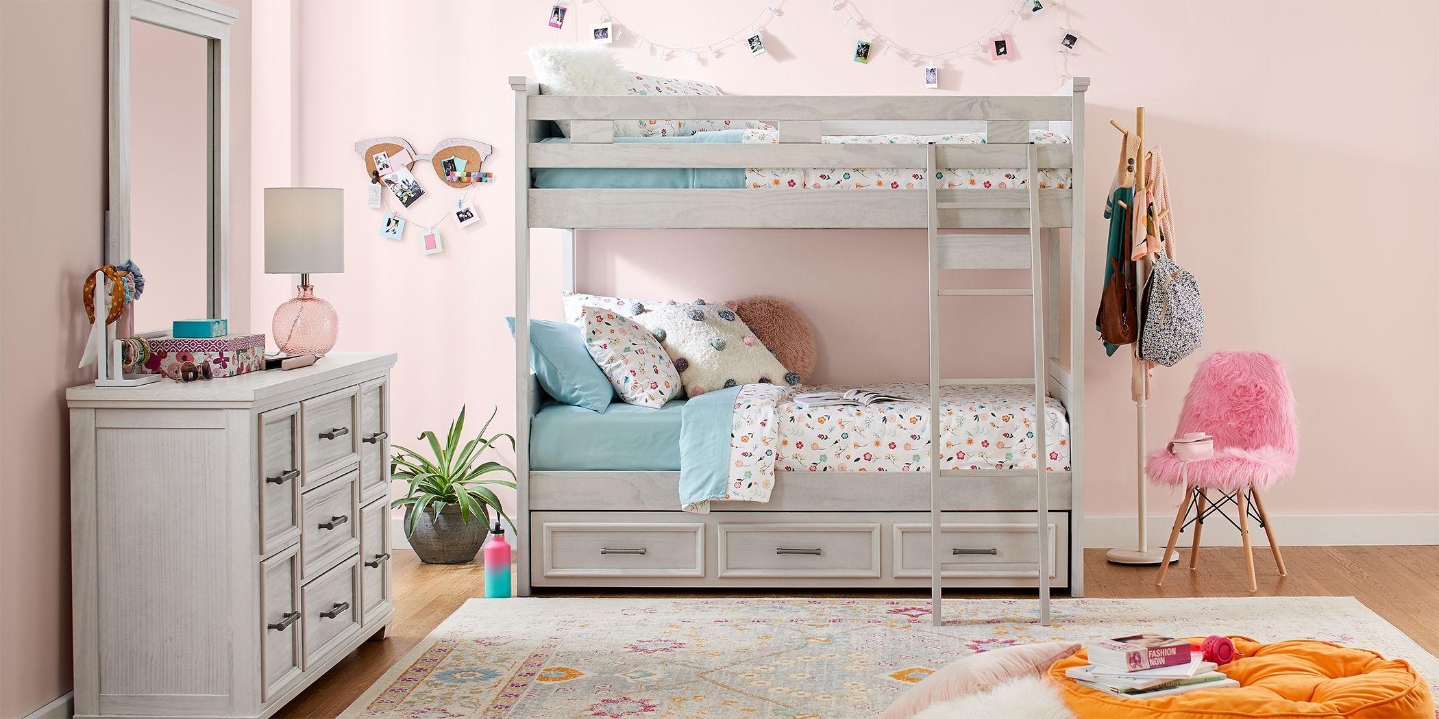 Canyon Lake Ash Gray Twin/Twin Bunk Bed