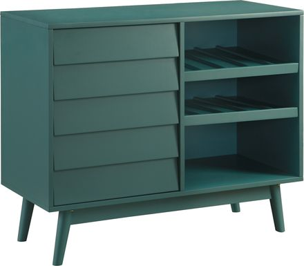 Canyonbend Blue Bar Cabinet