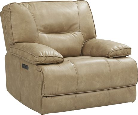 Caranova Camel Dual Power Recliner