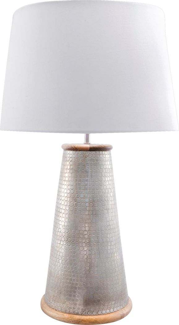 Cardington Silver Lamp