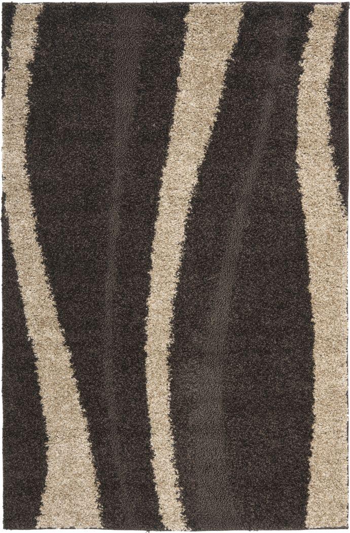 Carietta Brown 5'3 x 7'6 Rug