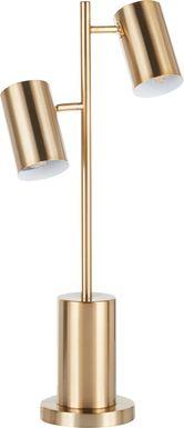 Carlington Gold Lamp