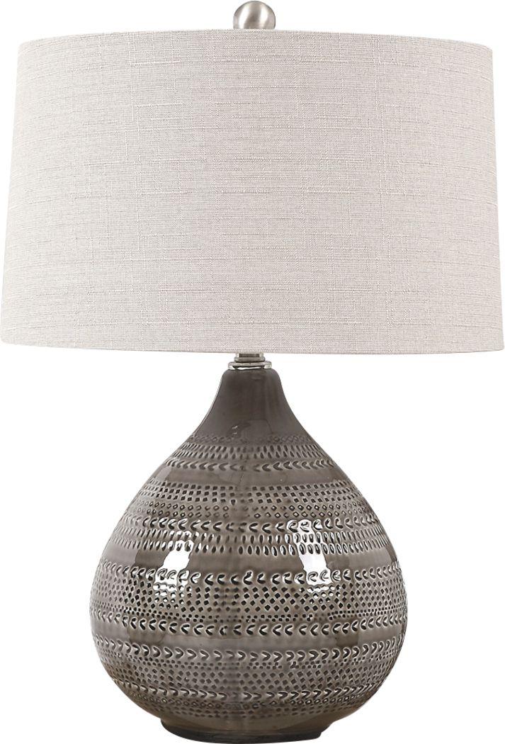 Carlo Court Gray Lamp