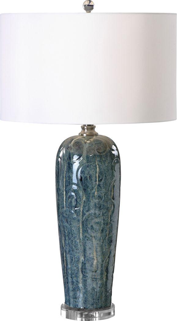 Carmean Blue Lamp