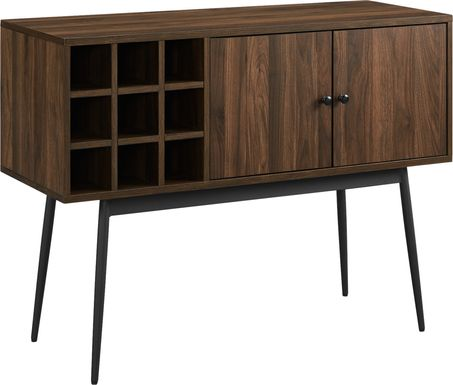 Carnarvon Brown Bar Cabinet