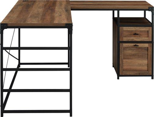 Carnfirth Brown Desk