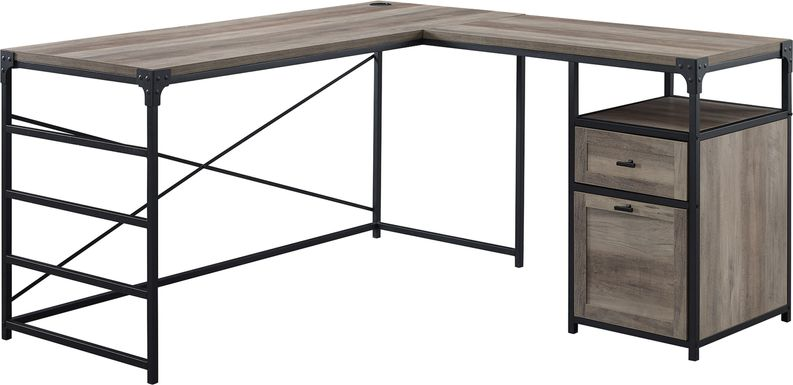Carnfirth Gray Desk