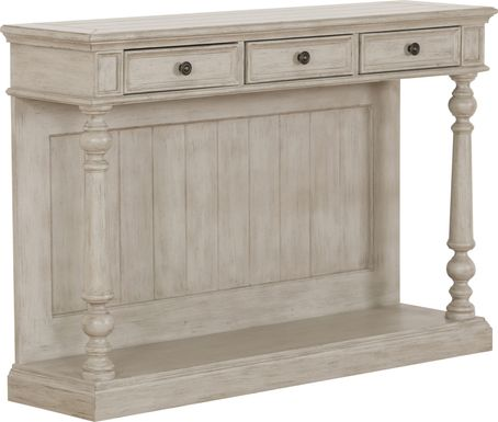 Carnwath Beige Console Table