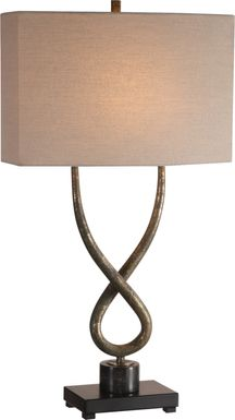 Carol Ann Way Silver Lamp