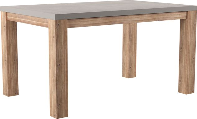Carolewood Gray Outdoor Dining Table