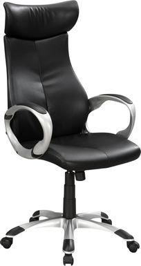 Carriagewood Black Desk Chair