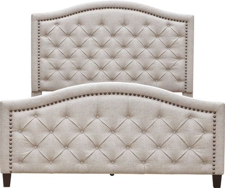 Carrollview Beige King Bed