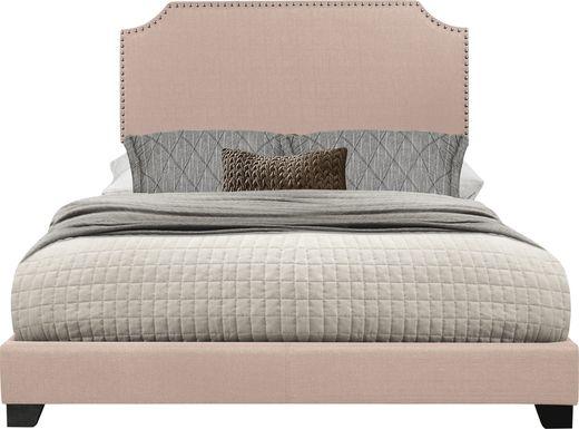 Carshalton Beige King Upholstered Bed