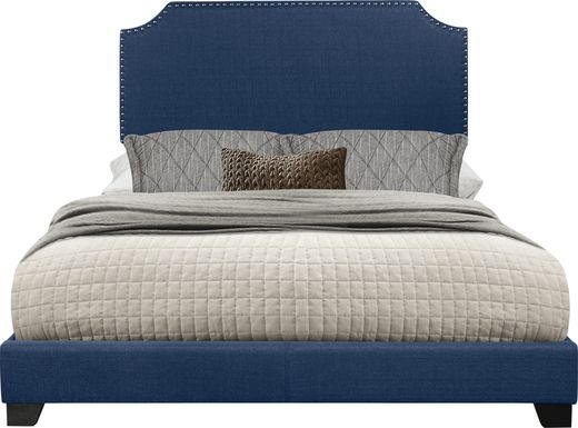 Carshalton Blue King Upholstered Bed